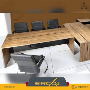 میز کنفرانسی پایه h