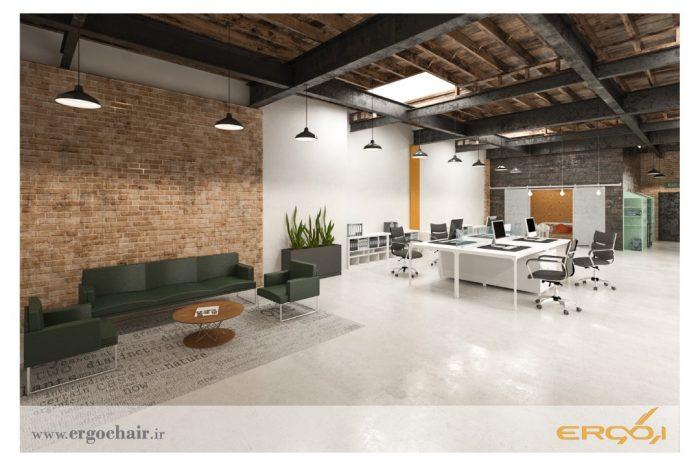 طراحی دفتر استارت اپ